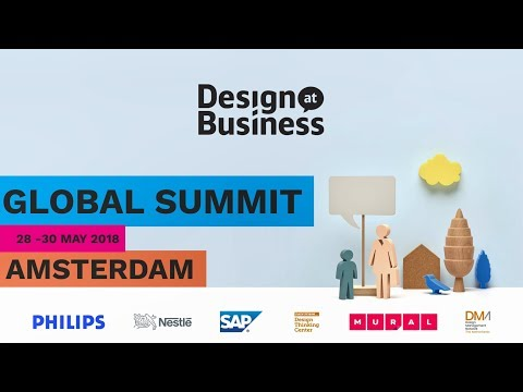 2018 Global Design at Business Summit Amsterdam
