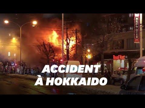 Au Japon, l'explosion d'un restaurant fait 42 blessés