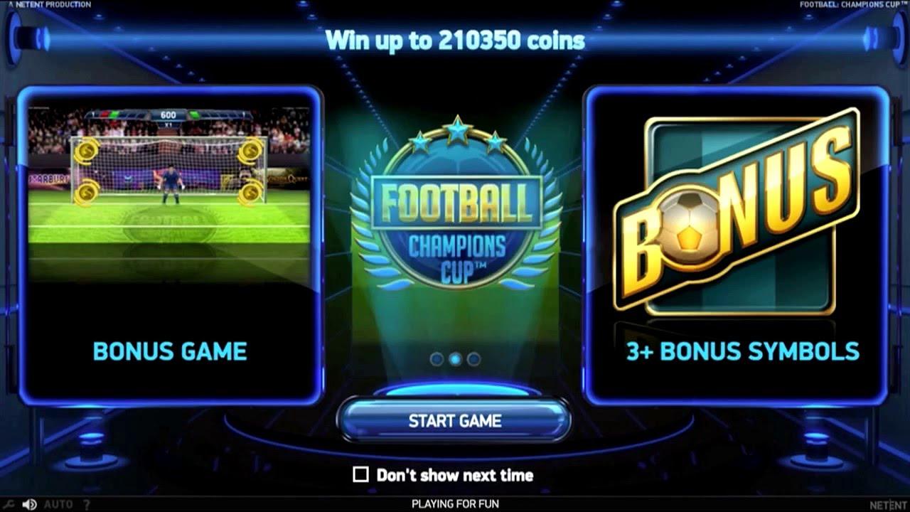 Игровые автоматы о футболе
