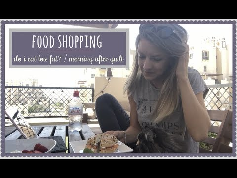 MY ANOREXIA RECOVERY // food shop // morning after guilt