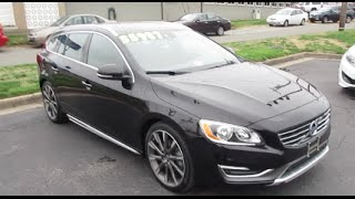 2015 Volvo V60 T5 Drive-E Walkaround, Start up, Tour and Overview