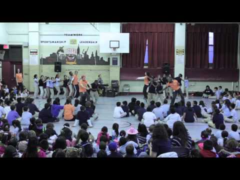 BalletX/NDI Workshop Final Performance, Feb. 28 at Andrew Jackson School