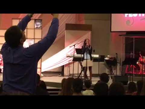 Kya Kapella singing at Alta Loma Christian School