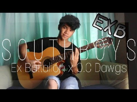 Southboys - Ex Battalion x O.C Dawgs(fingerstyle guitar cover)