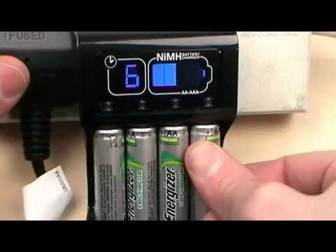 4 NiMH Batteries Recharge Pro Energizer Rechargeable AA /& AAA Battery Charger