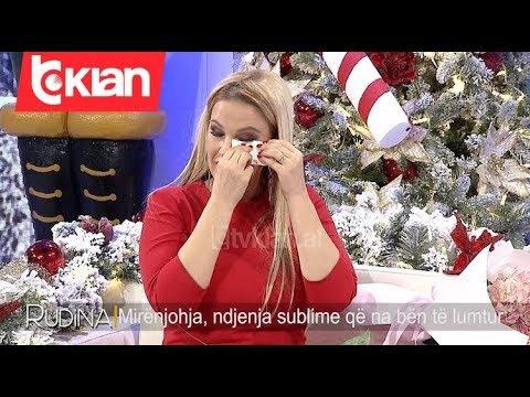 """""""Te dua shume zemer"""", Rudina Magjistari nuk mban dot lotet ne studio"""
