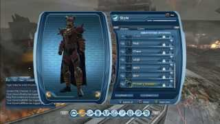 DCUO Blood-Cursed PVE Tier 4 and a bit Colour Matching Guide