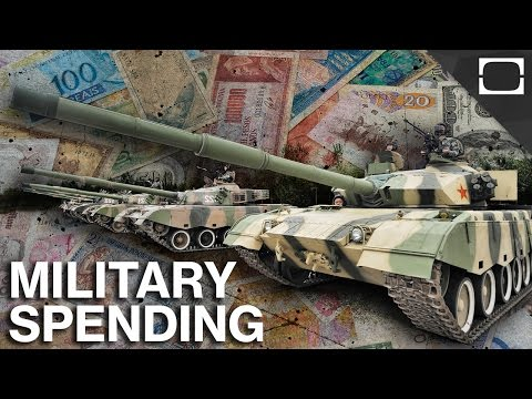 Which Countries Spend The Most On Their Military?