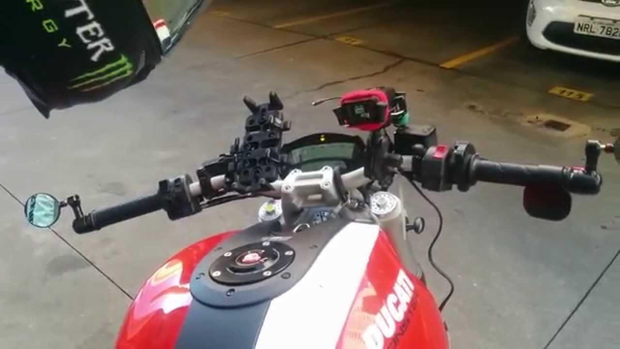 Ducati Monster Ram Mount