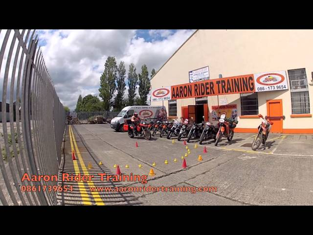 Motorcycle training - Aaron rider training - Slow control