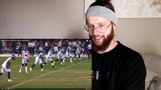 Rugby Player Reacts to Michael Dixon NFL Drop Kick Seattle Seahawks V Chicago Bears!