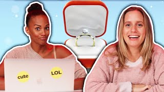 Brides React To Engagement Horror Stories