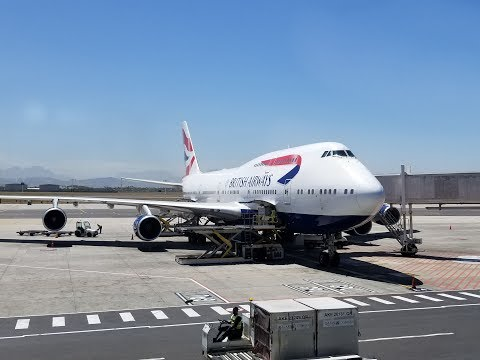 British Airways B747 Club World (Business class) review (London to Cape Town)