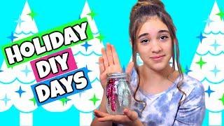 Christmas DIY Days #1: Glitterbomb Slime Jars!  Fun DIY Christmas Gift & Room Decor!