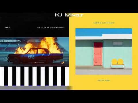 5 Seconds Of Summer ft. Julia Michaels x Zedd ft. Elley Duhé - Lie To Me / Happy Now (MASHUP) Mp3