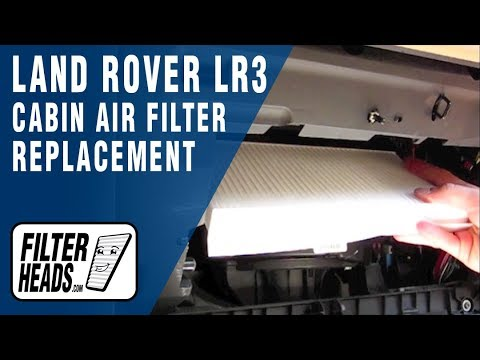 Oil And Filter Change 2013 Land Rover Lr4 Doovi