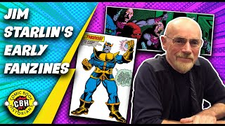 Ep.35.  Jim Starlin's early 1970s Fanzine Work Hints At His Later Marvel Creations, & the MCU by AG