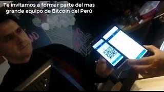 Compra helado pagando con Bitcoin en Perú