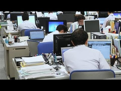 Convincing Japanese Workers To Work Less