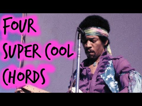4 Super Cool Must Know Hendrix Guitar Chords