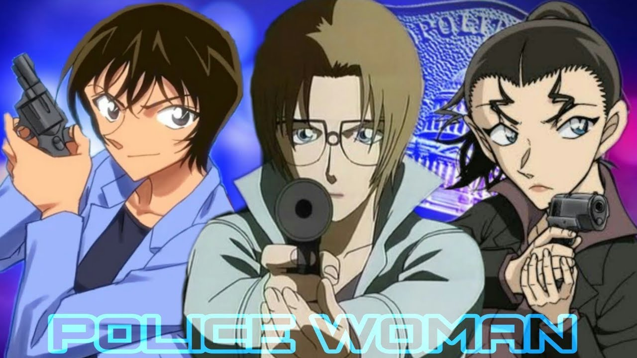 6 Polisi Wanita tercantik di anime DETECTIVE CONAN