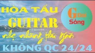 [GĐS] 24h Hòa Tấu Guitar Nhạc Vàng Dân Ca Không Lời Hay Nhất | Nhạc Vàng Vô Thường Thư Giãn Kết Bạn