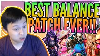 BEST Balance Patch EVER!? - FUN Discussion / FULL In Depth Analysis - Summoners War