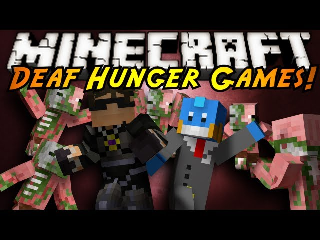 Minecraft Mini-Game : DEAF HUNGER GAMES!