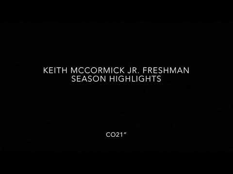 Keith McCormick Highlights Yr1