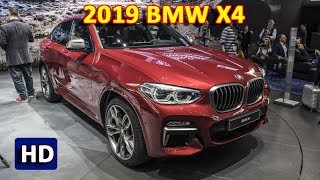 2019 BMW X4 Review | New BMW X4 M40i 2019 - The Fastback Compact SUV Returns