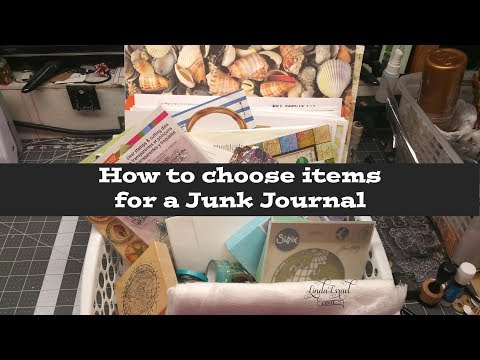 How to choose items for a Junk Journal