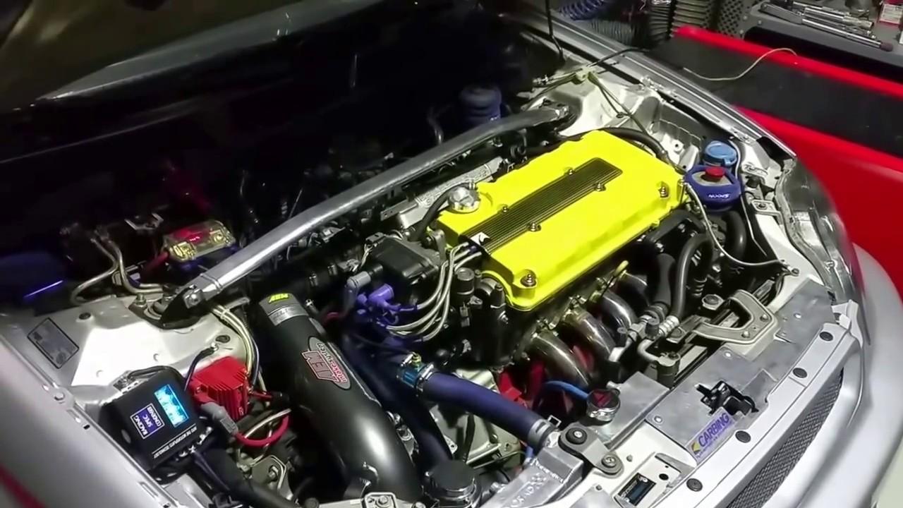 Honda civic coupe b18 Jackson racing supercharger