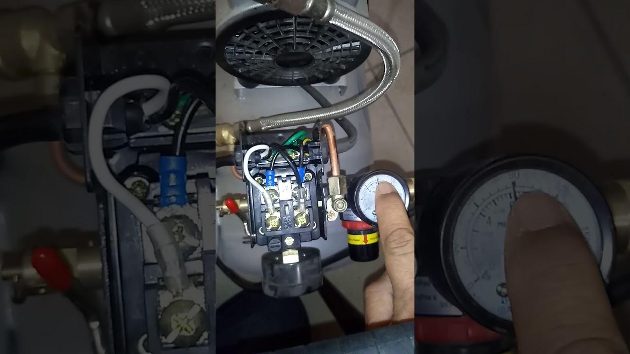 Porque mi compresor de aire no tiene presión