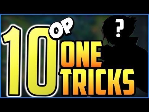Best One Trick Champions Every Role - Top 10 Strong Champions To One-Trick Main - League of Legends thumbnail