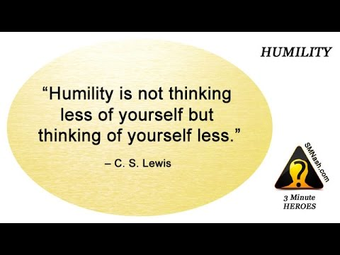 3 Minute Heroes (15) - Humility