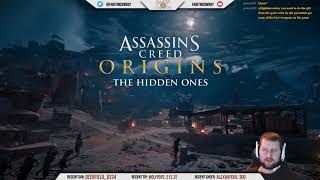 Assassin's Creed Origins - Hidden Ones DLC Livestream