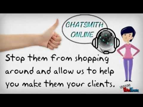 Chatsmith Online Services | Live Support Chat for Website
