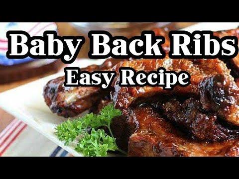Baby Back Ribs (Easy Recipe)// No Bake Recipe