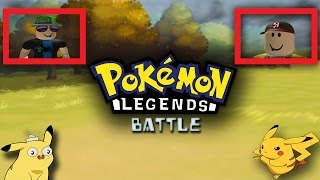 Roblox Pokemon Battle 1