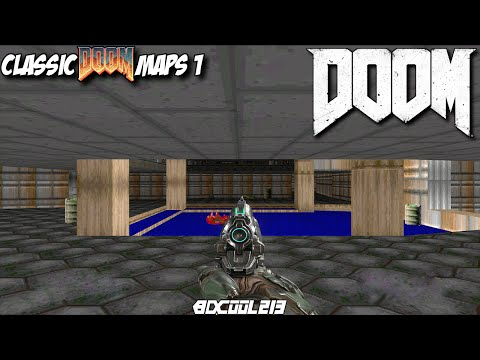 DOOM 2016 CLASSIC DOOM MAPS GAMEPLAY WALKTHROUGH PART 1 - XBOX ONE LET'S PLAY