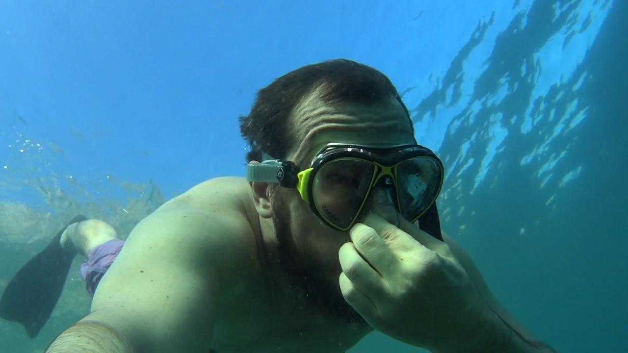 Dangerous Freediving in The Stormy Sea   SIBERIAN