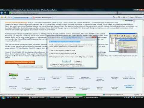 Internet Download Manager Tutorial