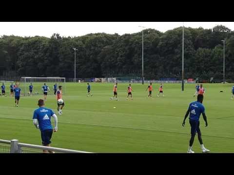 Heute ist das Training richtig  losgegangen!!NUR DER HSV HAMBURG