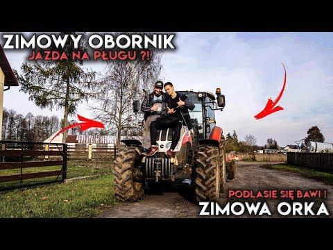 ✔Jazda Na Gapę !?☆Obornik & Orka☆Steyr I Farmer W Akcji☆ Podlasie Się Bawi !