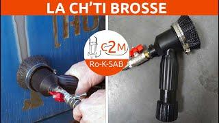 c2m-negoce.com - La Ch'ti Brosse - Système d'aspiration pour sableuse