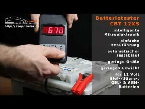 professioneller kfz batterietester cbt12xs 12v youtube. Black Bedroom Furniture Sets. Home Design Ideas