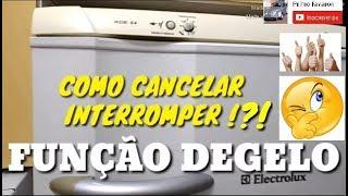 DEGELO - COMO CANCELAR, INTERROMPER ?!?
