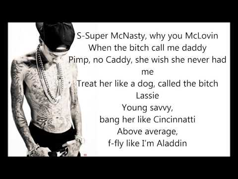 Faded - Tyga Ft. Lil Wayne [Lyrics]