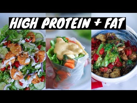 My Go To LOW CARB Vegan Meals Easy and Healthy!