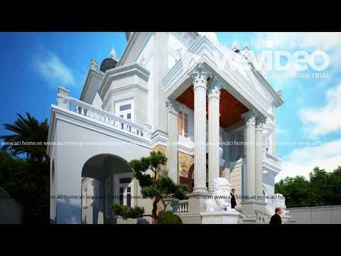 Kênh thiết kế biệt thự kiểu Pháp